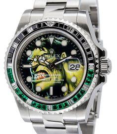 116610 Submariner Rolex Watch Steel Hulk Dial - Green/Black Bezel - WOW  #Rolex #LuxurySportStyles