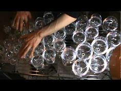 Harry Potter theme played on wine glasses.  So much amazing!!