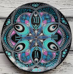 "648 Likes, 42 Comments - Anastasiya Stefanovich (@estriada_artworks) on Instagram: ""#pointtopoint #decor #handpainted #painting #decorativeplate #artwork #mandala #beautiful_mandalas…"""