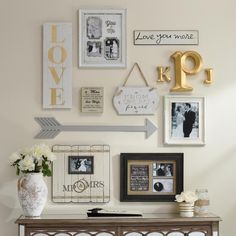 """""""A #gallerywall done right is beautiful, but it can be hard to create! That's why we've laid out three easy steps for how to create one on our blog! Click…"""""""