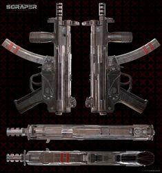 Scraper polys started in fusion 360 Game Assets, Cool Guns, Door Handles, Cool Stuff, Arsenal, Weapon, Artwork, Design, Door Knobs