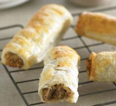 Meat-free sausage rolls | Healthy Food Guide