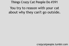 there seems to be a whole page for crazy cat people @Leslie Terrence
