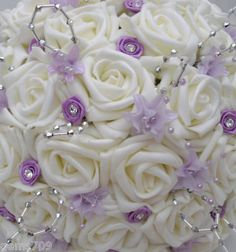 Lilac and silver Wedding Flowers - Bing Images