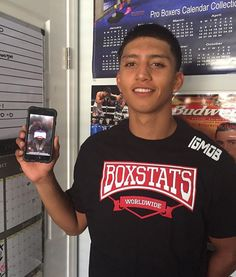 Thank You Saul Bustos for supporting us and downloading BoxStats from the App Store! #BoxStats #knowtheopponent