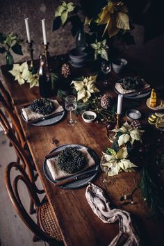 Christmas Dinner with Mushroom Risotto and roasted Pumpkin - Our Food Stories