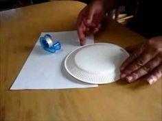 【空飛ぶコップの作り方】不思議!手作りおもちゃ★マグヌス効果 How to make a flying paper cup. - YouTube