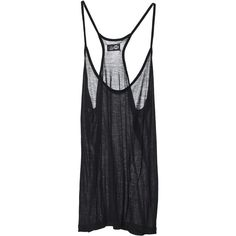 Tops Mercedes Tank Black found on Polyvore