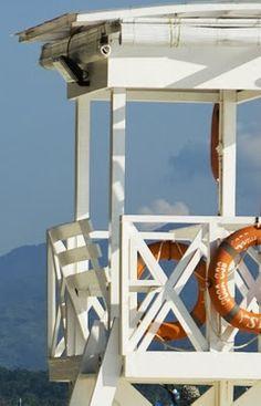 lifeguard stand Ellis - Just for you :) Ocean Beach, Beach Day, Summer Beach, Summer Fun, Summer Time, I Love The Beach, Am Meer, Beach Cottages, Beach Houses