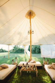 Tented Lounge Area | The Wedding Artists Collective | TheKnot.com