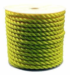 Other Home Building and Hardware 20594: Rope King Tp-34200Y Twisted Poly Rope - Yellow - 3 4 Inch X 200 Feet -> BUY IT NOW ONLY: $73.38 on eBay!