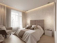 New apartment bedroom decorations ceilings ideas Ceiling Design Living Room, Home Ceiling, Home Room Design, Bed Design, Home Interior Design, Apartment Interior, Bedroom Apartment, Bedroom Decor, Bedroom Lighting