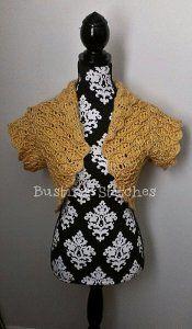 Elegant Short Sleeve Bolero