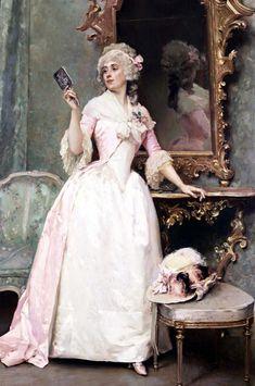 Vanity (Raimundo de Madrazo y Garreta - )