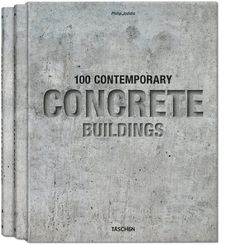 100 contemporary concrete buildings | http://goo.gl/mR3NdV | #bestdesignbooks #books #bookreviews #architecture