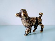 Poodle, brass poodle, Toy poodle, standard poodle brass dog, brass dog figurine, dog lover gift, dog ornament, gift for her, solid brass dog Dog Lover Gifts, Dog Gifts, Dog Lovers, Dog Ornaments, Vintage Ornaments, Black Lab Puppies, Corgi Puppies, Black Labrador, Black Labs