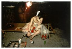 Nan Goldin - Trixie on the cot, NYC 1979