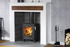 Luxury wood burner
