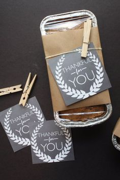 Best DIY Gifts for Neighbors - Thankful For You Neighbor Gift - Cute Mason Jar Crafts, Gift Baskets and Cheap and Easy Gift Ideas to Make for Friends - Do It Yourself Projects You Can Sew and Craft That Make Awesome DIY Gifts and Homemade Christmas Presents http://diyjoy.com/diy-gifts-friends-neighbors