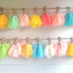 The Original Tassle Garland by millalove on Etsy