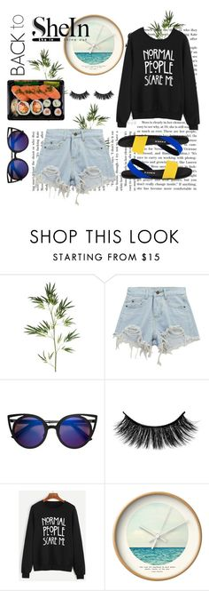 """""""What is """"Normal""""?! Unique is the New Normal"""" by echa-nadiya ❤ liked on Polyvore featuring Pier 1 Imports, Chicnova Fashion, Dot & Bo, Tkees, BackToSchool, contest, win and shein"""