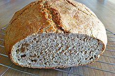 Dinkel - Roggen - Brot 7 Bread, Health, Food, Rye, Bread Baking, Food Portions, Recipies, Health Care, Brot