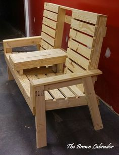 diy patio chairs 2x4's and 1x4's