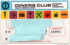 Diners Club France 1968