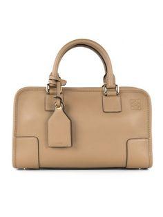 LOEWE Loewe Brown Leather Handle Bag. #loewe #bags #shoulder bags #hand bags #leather #lining #