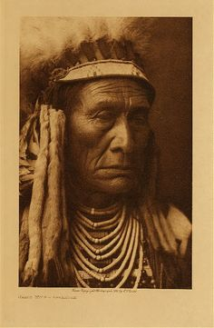 Skins Wolf - Apsaroke,1908. Edward Sheriff Curtis Photography.