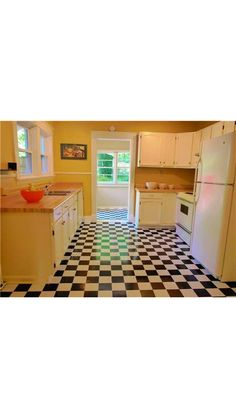 Kitchen needs major upgrades, but it has so much potential!