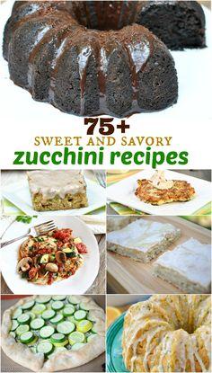 75+ Zucchini Recipes - Shugary Sweets