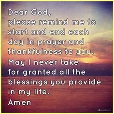 View Start and End Each Day with Thankfulness  - Inspirations. Share, pin and like encouragement for Christian women.