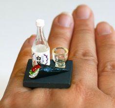 14 Diseño anillos de comida sorprendentemente detallados. | Quiero más diseño