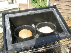 The Good (& Simple) Life: Solar Oven Bread