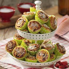 Hallonbullar med lakrits   Rasberry and licorice buns