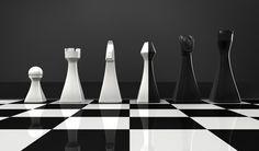 Schachbrett - Chessboard - by Armin Schellmann