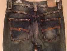 #Women's #NUDIE #JEANS CO Dark Blue Straight Long Leg Pants W 32 / L 34 #ebay #deals