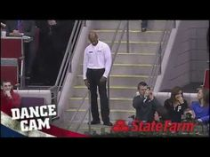 Detroit Pistons - Dancing Like Michael Jackson Last guy is a superstar!!!