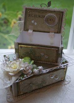 Mitt Lille Papirverksted: En kiste full av Tro, Håp & Kjærlighet