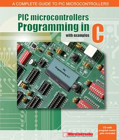 PIC Microcontrollers – Programming in C book cover