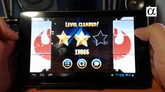 Angry Birds Star Wars en Acer Iconia Tab A100 (+playlist)