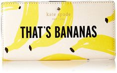 kate spade new york Flights Of Fancy Thats Bananas Stacy Wallet YellowMulti One Size * Click image to review more details.