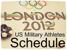Sixteen active duty service members are in London to compete in a number of events. Keep an eye out for these military athletes.
