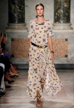 11060dfb6bab Butterfly Garden - Blugirl Spring Summer 2016 Fashion Show  mfw Подиумная  Мода, Женская Мода
