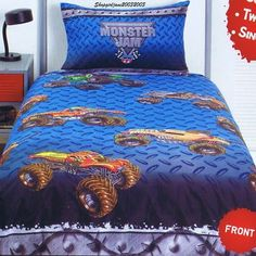 Monster Jam Monsters And Bedrooms On Pinterest