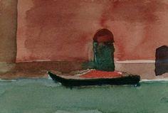 Daniel Aeberli peintre suisse. Venise. Aquarelle. Painting, Venice, Watercolor Painting, Landscape, Paint, Painting Art, Paintings, Painted Canvas, Drawings