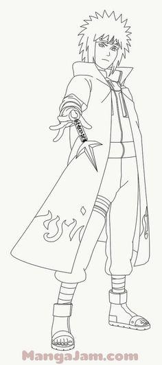 Naruto Minato, Anime Naruto, Sasuke E Itachi, Kid Kakashi, Naruto Uzumaki Shippuden, Naruto Drawings Easy, Naruto Sketch Drawing, Anime Sketch, Easy Drawings