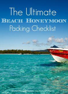 The Ultimate Beach Honeymoon Packing List!