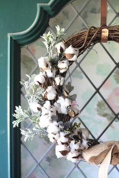Frosty winter wreath by Run to Radiance